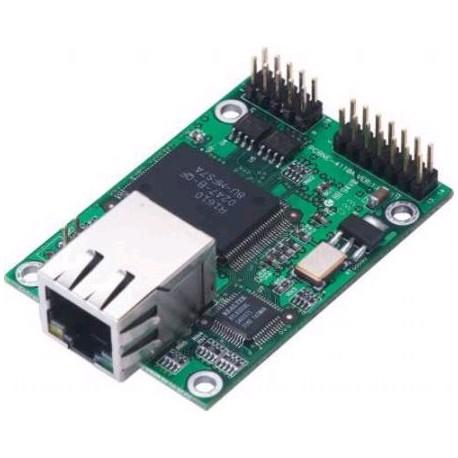 10/100 Mbps 嵌入式設備連網模組 (RS-232)