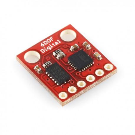 6自由度慣性測量模組-ADXL345/ITG-3200