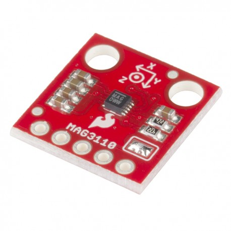 MAG3110三軸磁力計模組