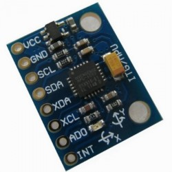CGGs_MPU6050姿態感測器