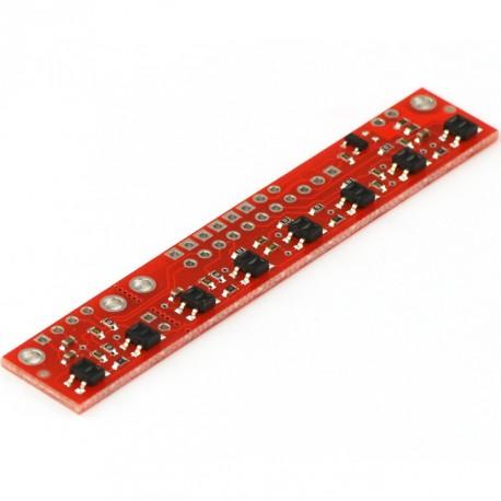 8RC陣列循線感測器