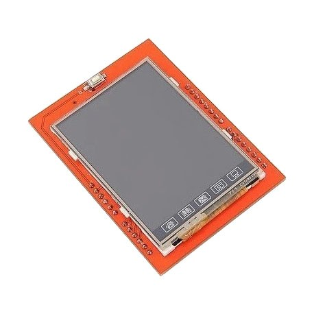 Arduino LCD Shield(2.4TFT觸碰式螢幕)