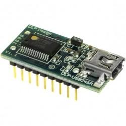 DLP-USB245R 轉接板 (庫存數:2)