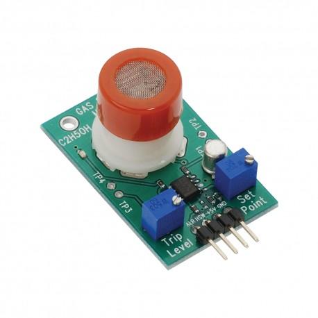酒精(C2H5OH)氣體感測器模組