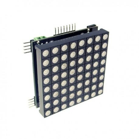 8*8三色全彩LED矩陣模組