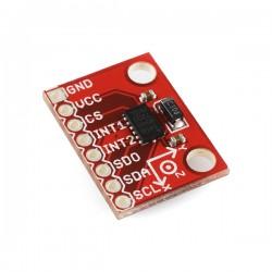 ADXL345三軸加速度計
