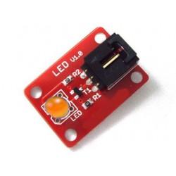 Arduino 電子積木 數字模組 LED 橘黃色感測器 5mm