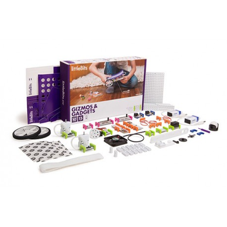 Littlebits Gizmos and Gadgets Kit 發明家工具箱套件