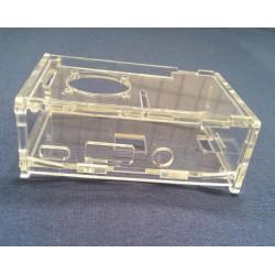 樹莓派3 / 2B / 1B+ 壓克力透明外殼 可裝風扇和3個散熱片