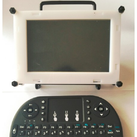 樹莓派5寸觸摸螢幕壓克力保護外殼