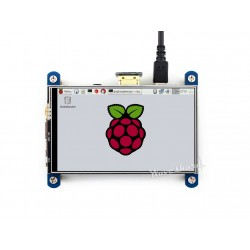 樹莓派4寸 HDMI LCD 電阻觸碰顯示螢幕 / IPS 高畫質觸摸顯示屏(800x480)