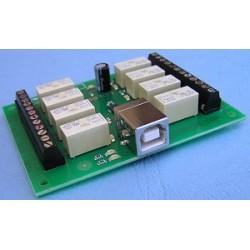 USB RELAY模組(8 channel)