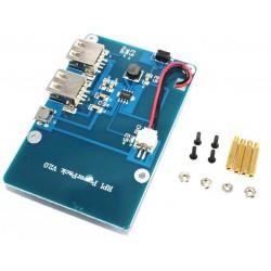 Raspberry Pi 3 鋰電源擴展板 雙USB輸出 獨立外場供電移動電源