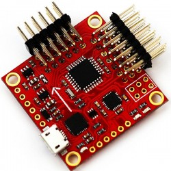 Arduino MPU6050 MultiWii 飛控板