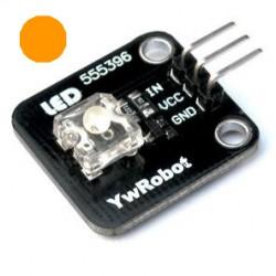 橘黃色LED感測器
