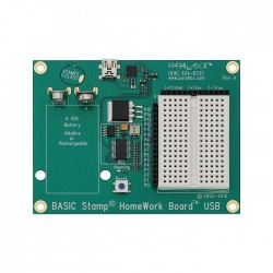 BASIC Stamp互動 I/O 控制板(HomeWork board USB版)