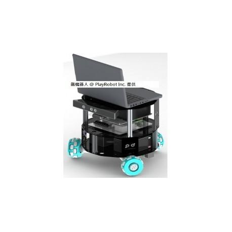 搭載Kinect的智慧型全向輪機器人(Email詢價)