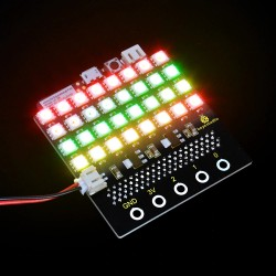 SK6812 4X8 32 Bit LED Dot Matrix 板For Micro Bit  (適用Micro:bit V2)