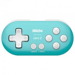 Zero2 迷你小手柄 (樹莓派、手機、電腦都適用的手把) 藍綠