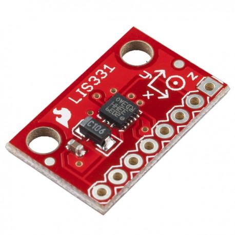 LIS331三軸加速度模組