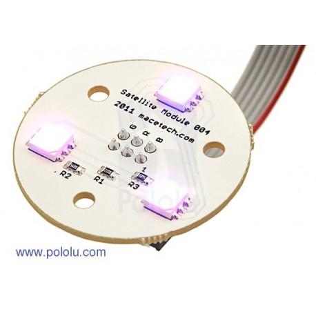 RGB LED 衛星式模組 004 (圓形)