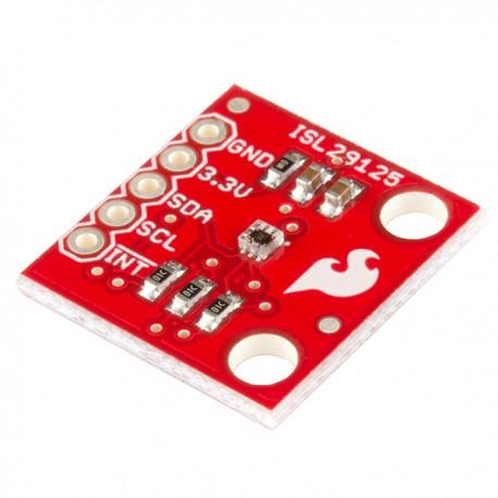 ISL29125光譜感測器