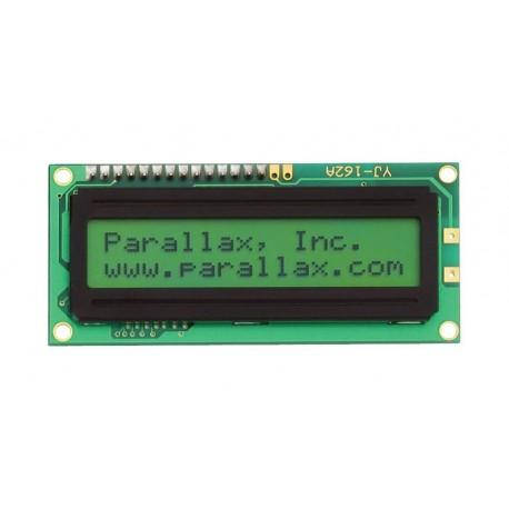 27977 2x16 LCD模組 (背光、串列)
