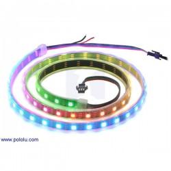 (可定址)30個 RGB LED 所組成的燈條 (1米)