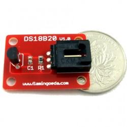溫度感測器 DS18B20 (相容Arduino) (庫存:1)