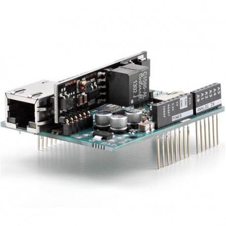 Arduino R3 網路擴充模組V2(含PoE) (正宗義大利原廠台灣總代理_品質保證)