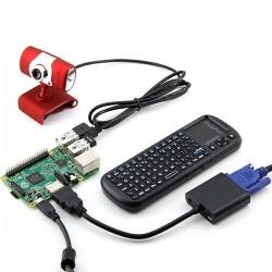 Raspberry Pi 3B+ 電腦套件(不含Raspberry Pi 3B+)(庫存:1)