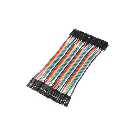 CGGs_Arduino杜邦線母對母 40P 20cm