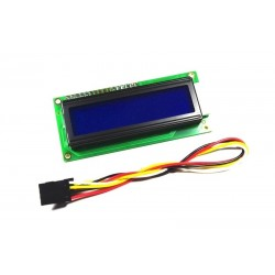 Arduino IIC/I2C 1602(5V)藍屏液晶模組
