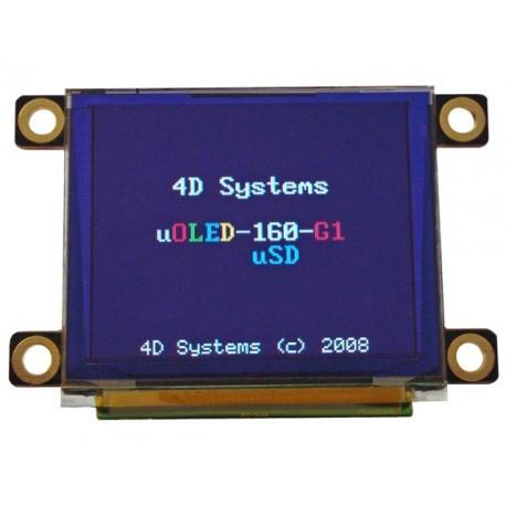 "1.7""串列OLED顯示模組"
