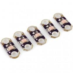 LilyPad LED 粉紅  (5pcs)