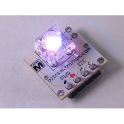 BlinkM - I2C Controlled RGB LED 指示燈