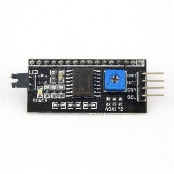 Arduino IIC/I2C/介面LCD1602轉接板