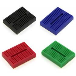 小型彩色麵包板 (170孔)