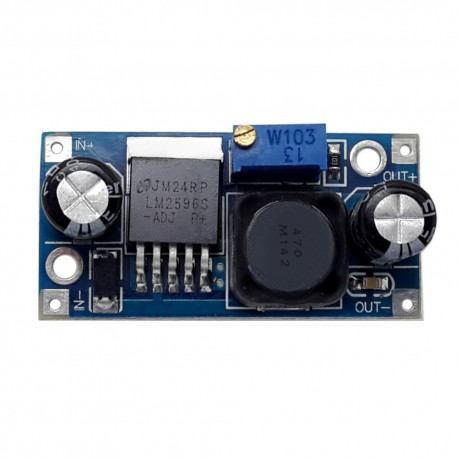 LM2596大晶片 3A降壓電源模組