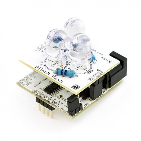 BlinkM MaxM - I2C Controlled RGB LED指示燈