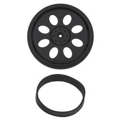 Boe-Bot/SumoBot 輪胎(含胎皮)