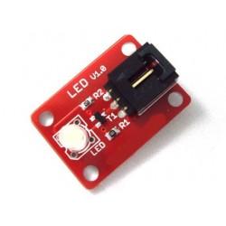 Arduino 電子積木 數字模組 LED 白色 5mm (庫存數:7)