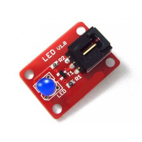 Arduino 電子積木 數字模組 LED 藍色感測器 5mm (庫存數:18)