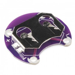 LilyPad 水銀電池座