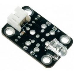 電子積木數字紅外發射模組(含線)(相容Arduino) (庫存:4)