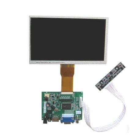 樹莓派7寸液晶顯示器螢幕套裝