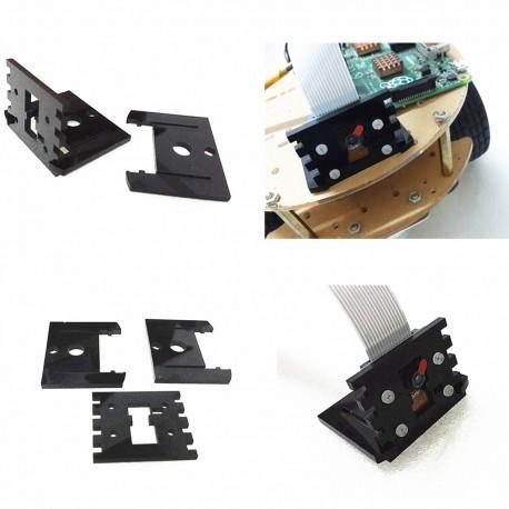 攝像頭支架 固定作用 含螺絲 適用樹莓派500萬 V1.3 / 800萬 v2.1