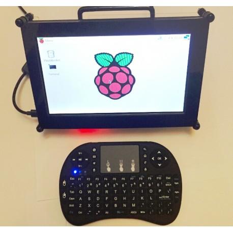 樹莓派7寸顯示螢幕壓克力保護外殼