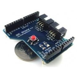 Arduino 專用 IDC-6/SPI 擴展板 (庫存數:6)