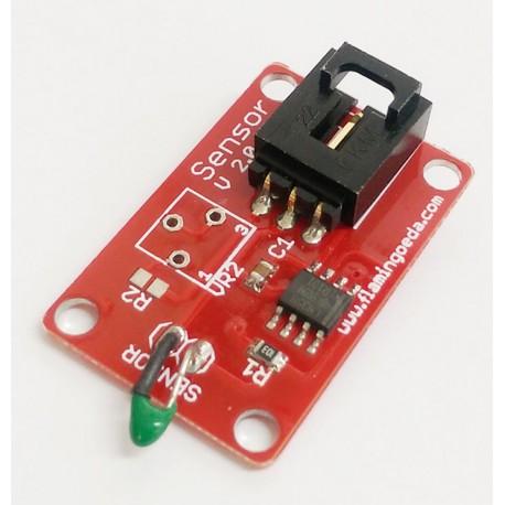 Arduino 電子積木 數位模組 溫度感測器 (庫存數:6)